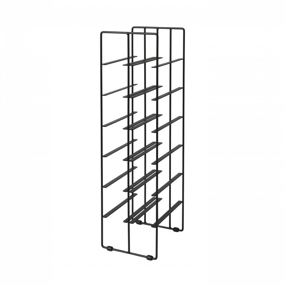 Wine Rack - Black - 12 Bottles